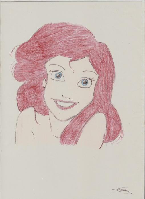 Ariel por Yumi
